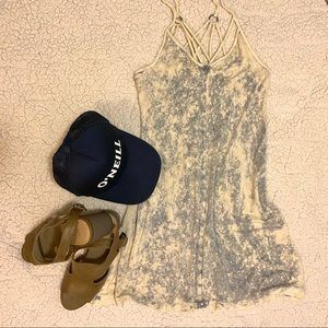 American Eagle Outfitters Acid Wash Dress